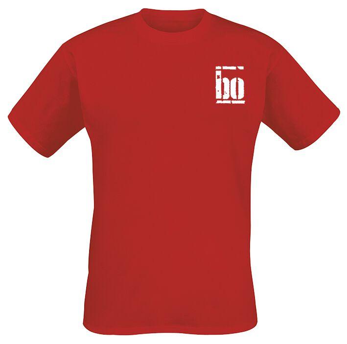 Image of   Böhse Onkelz Rocker T-Shirt rød