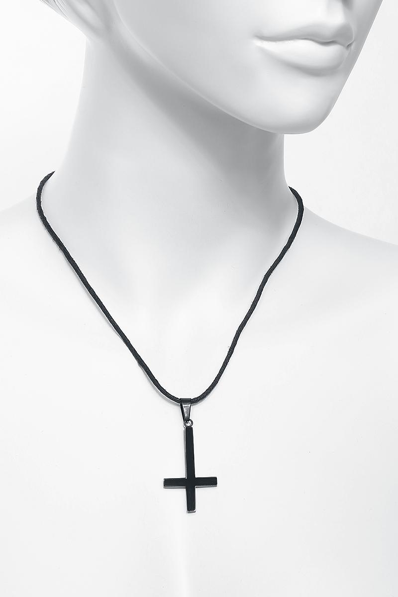 Image of Black Cross Anhänger Standard