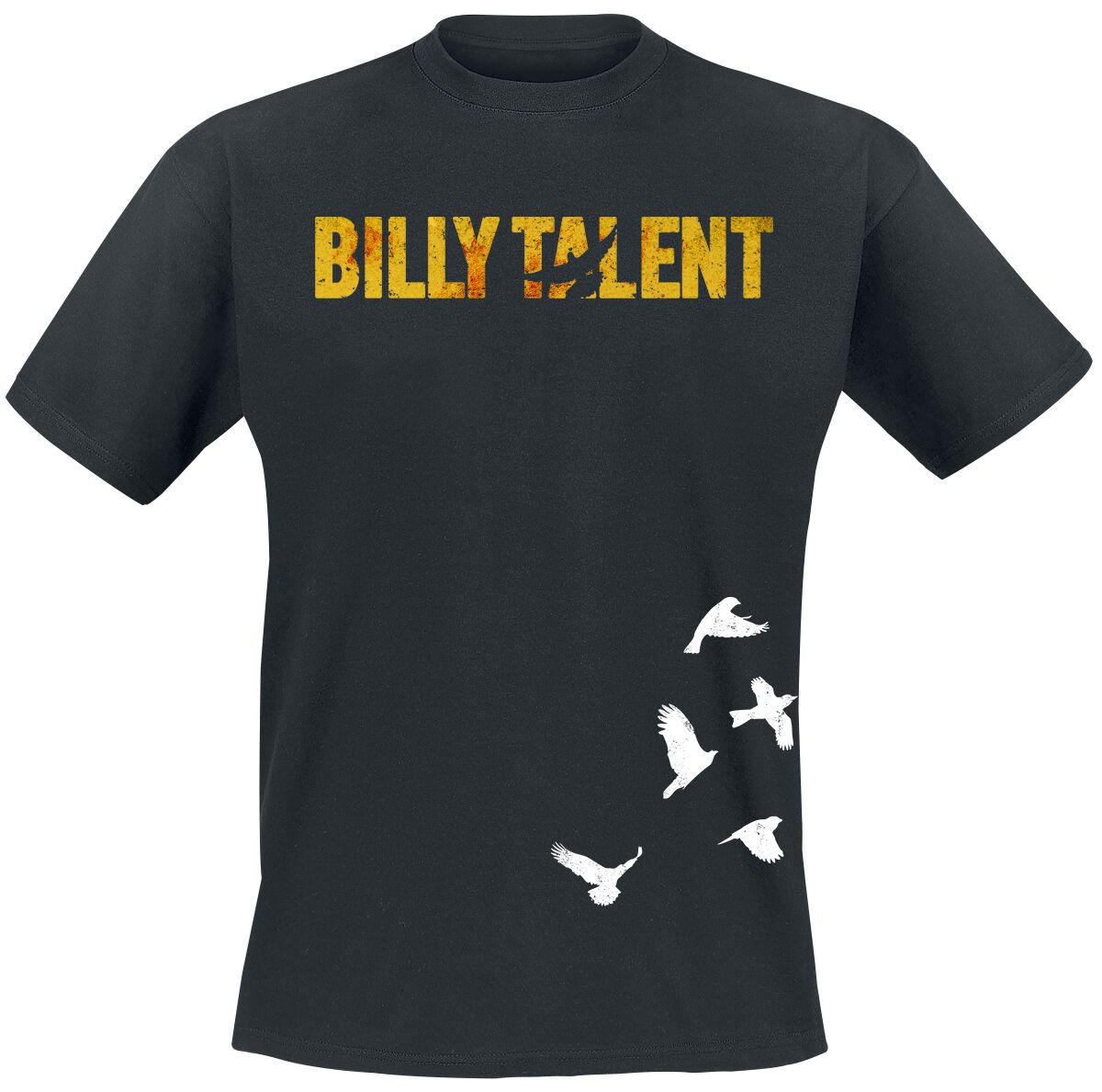 Zespoły - Koszulki - T-Shirt Billy Talent Birds T-Shirt czarny - 338781