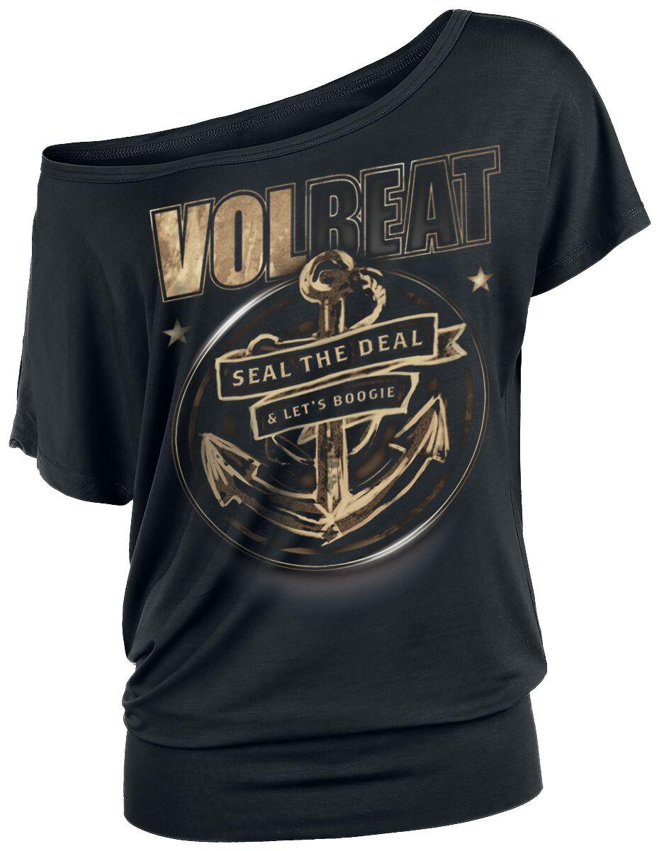 Volbeat Anchor Koszulka damska czarny