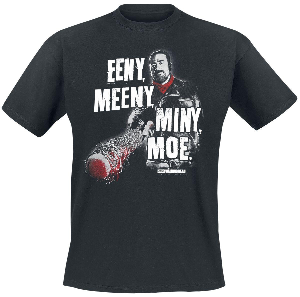 Image of   The Walking Dead Negan - Eeny Meeny Miny Moe T-Shirt sort