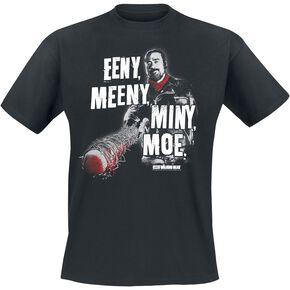 The Walking Dead Negan - Eeny Meeny Miny Moe T-shirt noir