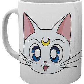 Sailor Moon Luna & Artemis Mug blanc