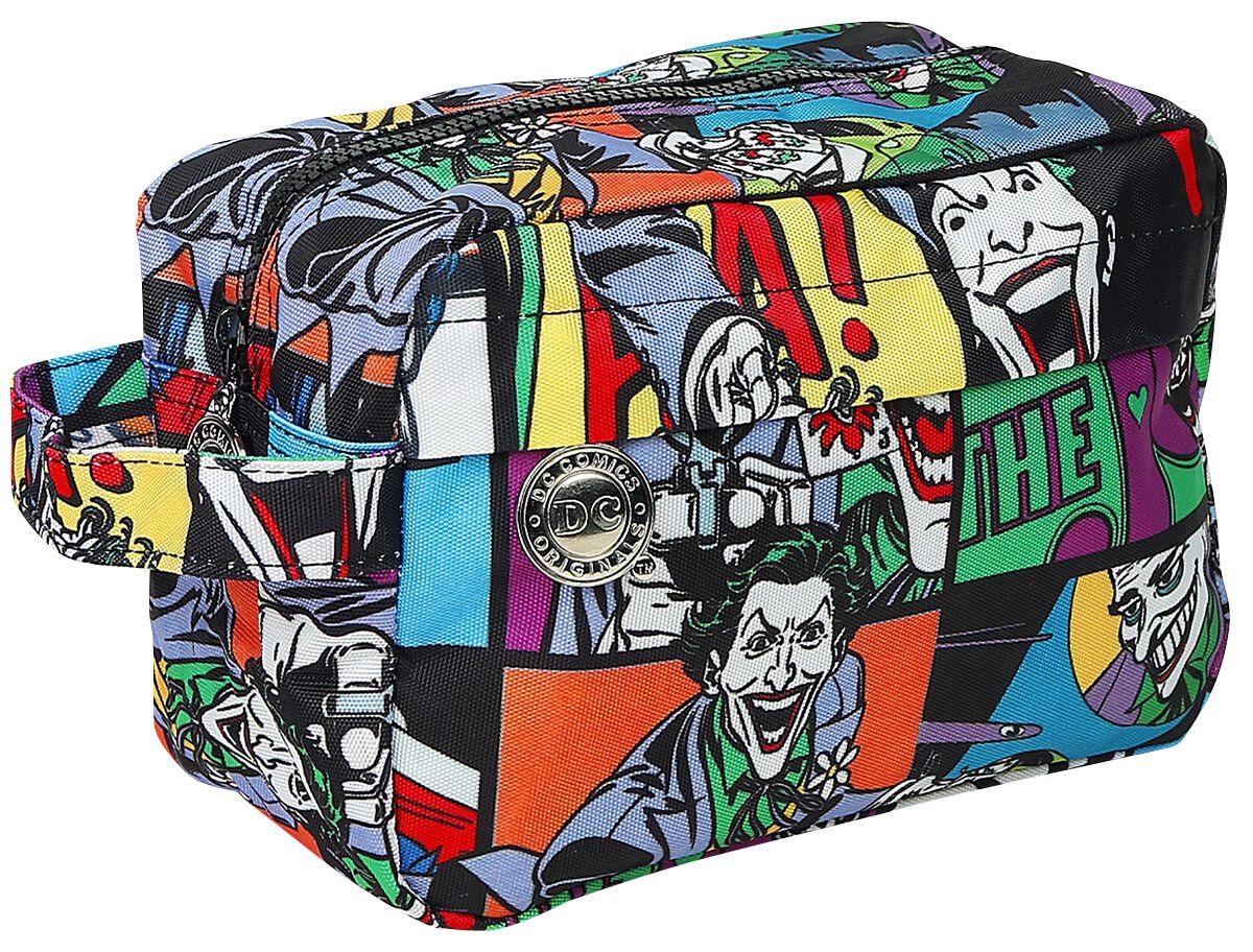 Marki - Torby i Plecaki - Torebka na przybory toaletowe The Joker Pop Art Torebka na przybory toaletowe allover - 339267