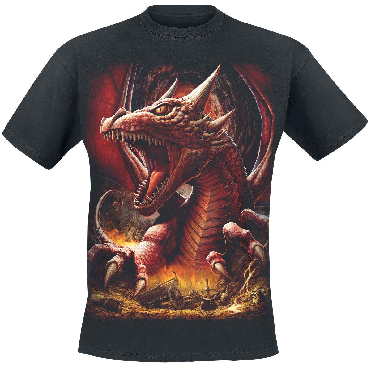 Image of   Spiral Awaken the Dragon T-Shirt sort