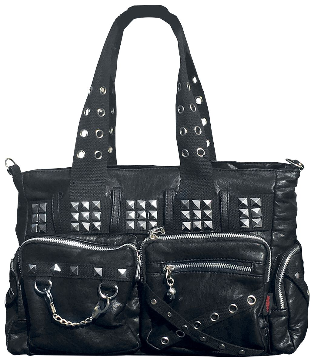 Image of   Jawbreaker Mad To The Max Studded Bag Håndtaske sort