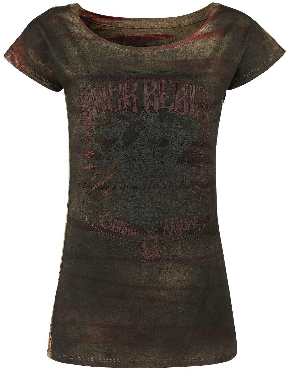 Image of   Rock Rebel by EMP All In The Mind Girlie trøje brun
