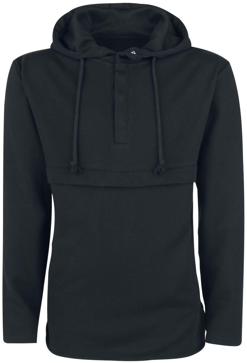 Marki - Bluzy z kapturem - Bluza z kapturem Doomsday Basic Button Hoodie Bluza z kapturem czarny - 339736