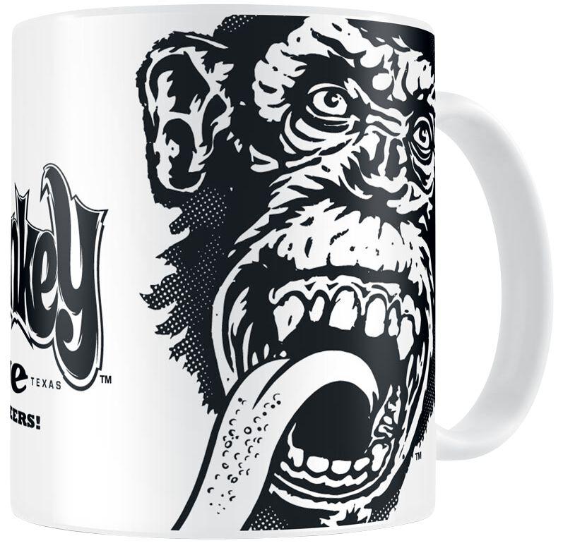 Image of   Gas Monkey Garage Logo Krus hvid
