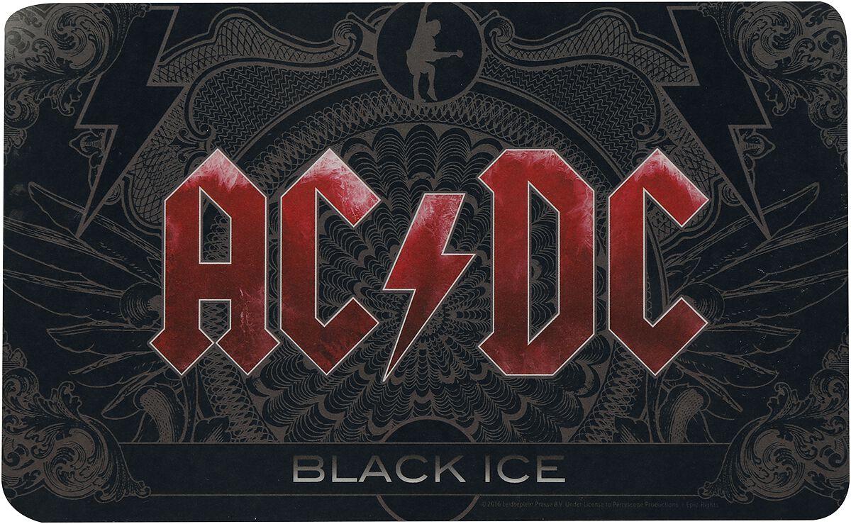 Image of   AC/DC Black Ice Smørebræt Standard