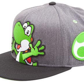 Casquette Super Mario Yoshi et Œuf Nintendo -Gris