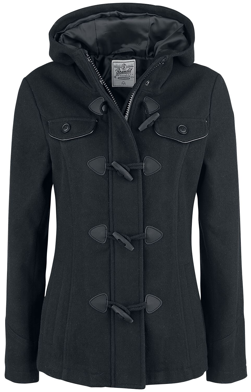 Image of   Brandit Girls Duffle Coat Girlie frakke sort