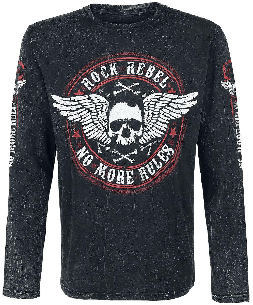 Image of   Rock Rebel by EMP Rock And Roll Dreams Come Through Langærmet sort