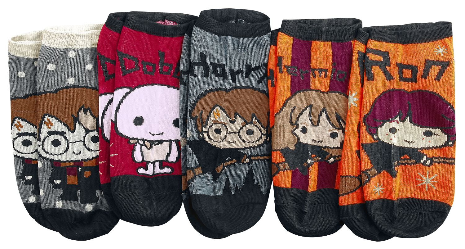 Image of   Harry Potter Chibi Sokker multifarvet