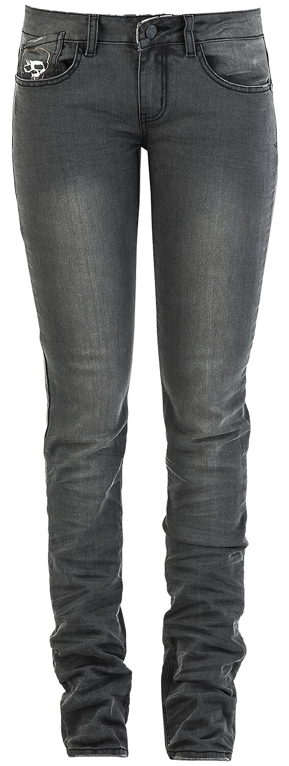 Image of   Volbeat EMP Signature Collection Girlie jeans sort