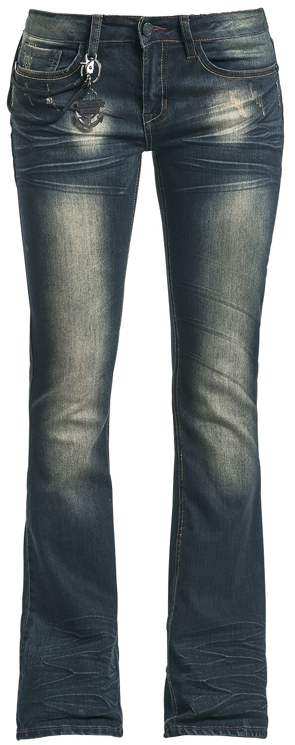 Image of   Volbeat EMP Signature Collection Girlie jeans blå