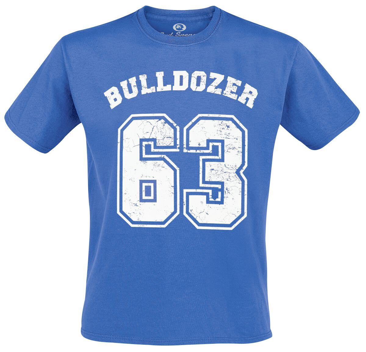 Merch dla Fanów - Koszulki - T-Shirt Bud Spencer Bulldozer T-Shirt niebieski - 340586