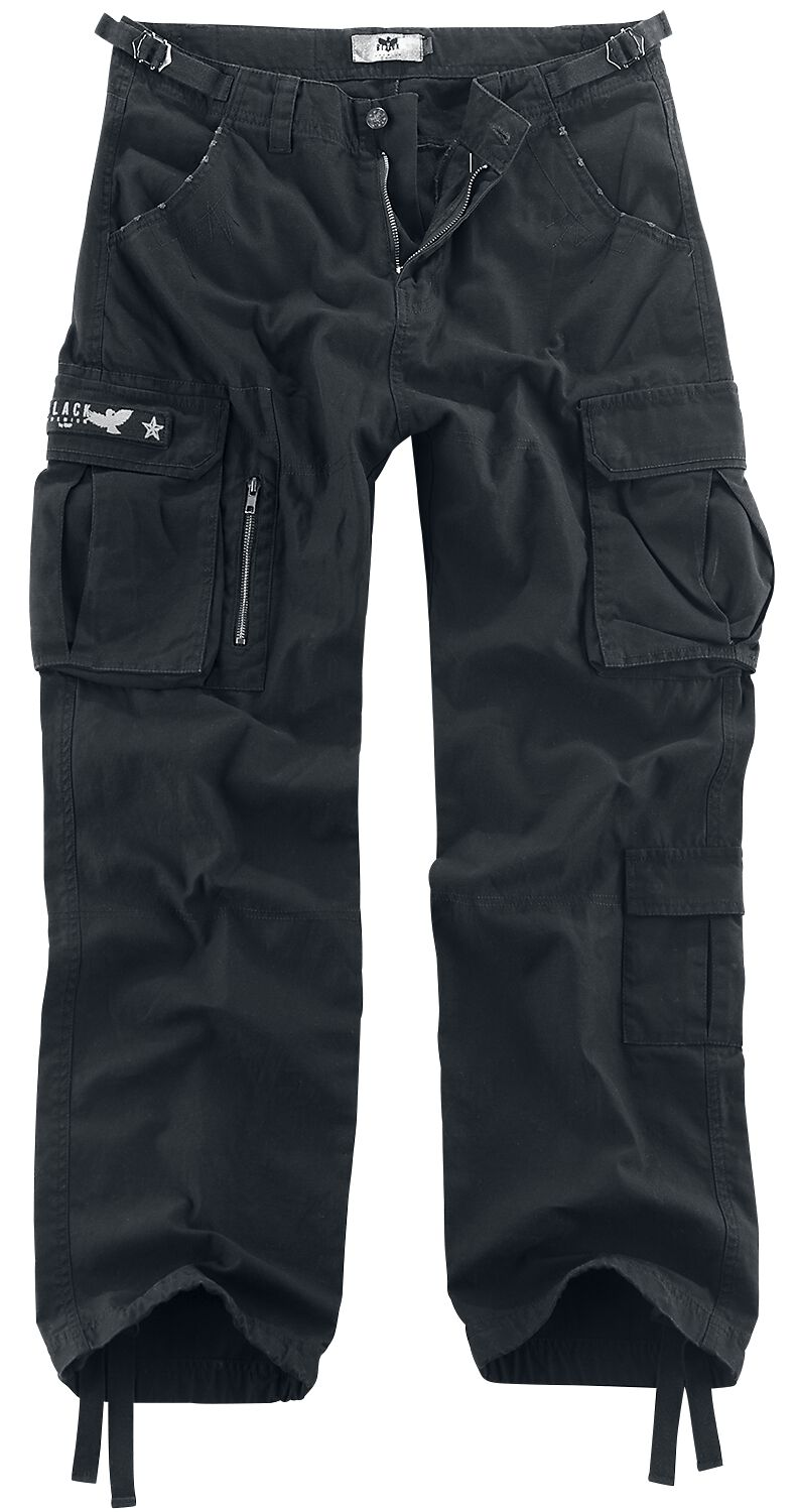 Image of   Black Premium by EMP Army Vintage Trousers Bukser sort