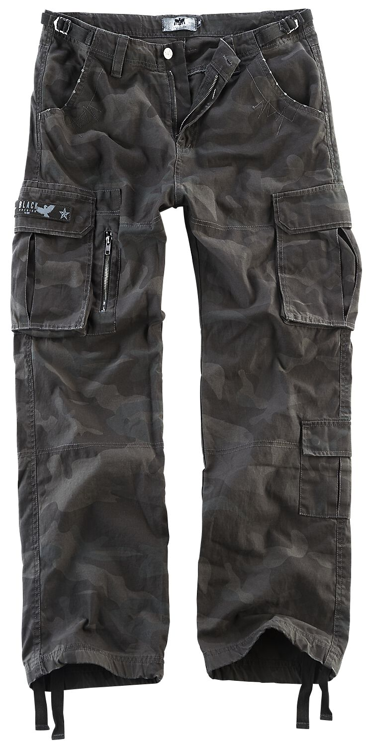 Image of   Black Premium by EMP Army Vintage Trousers Bukser mørk camo