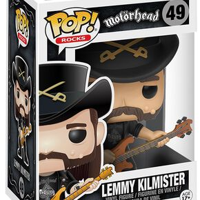 Figurine Pop! Lemmy Kilmister