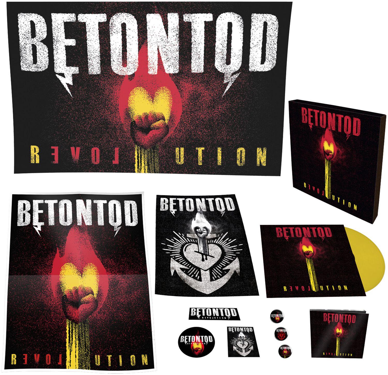 Betontod Revolution CD & LP Standard