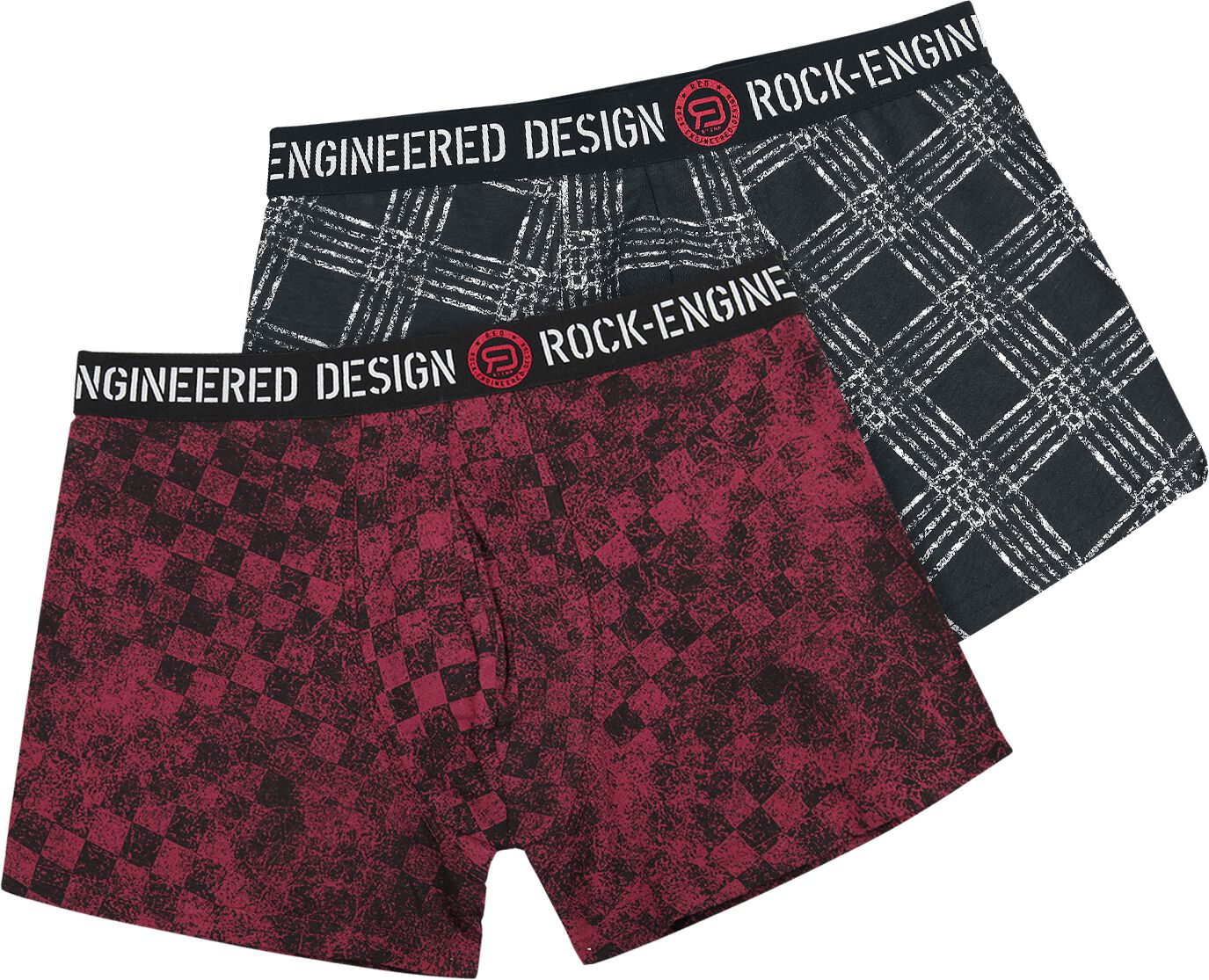 Image of   RED by EMP Boksershorts - 2-pak Boxershorts sort