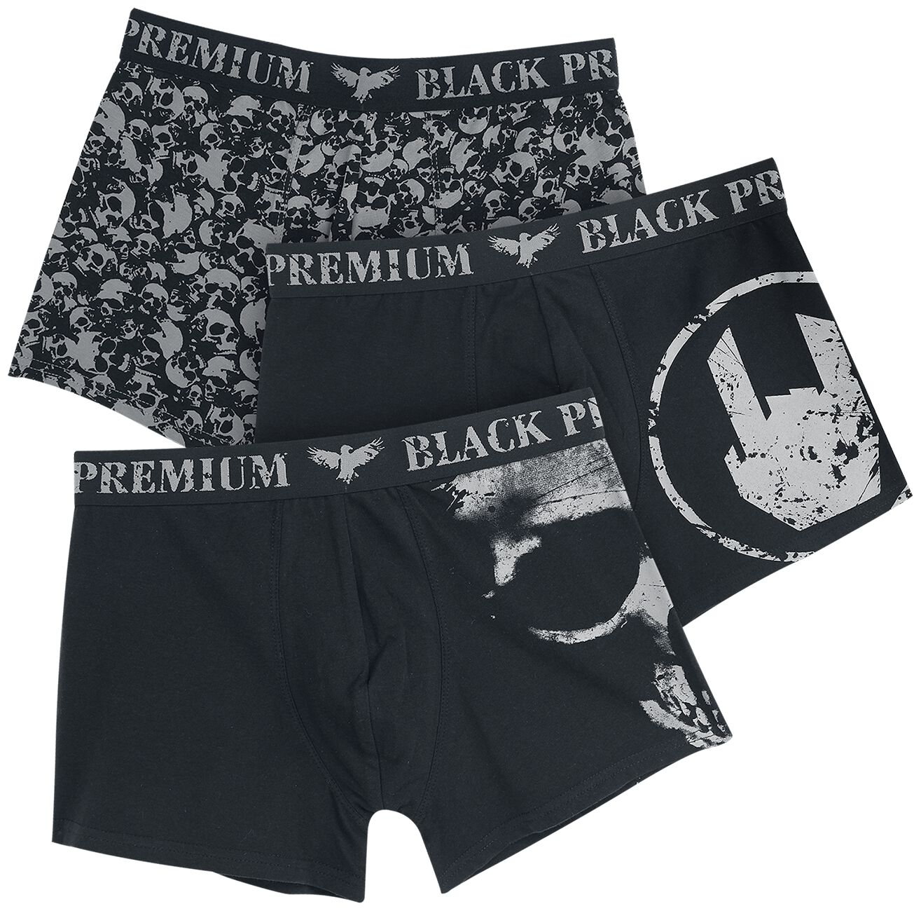 Image of   Black Premium by EMP Devil's Plaything Boxershorts sort