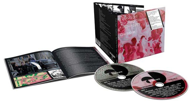 Image of   Pink Floyd The early years 1967-72 Cre/ation 2-CD standard