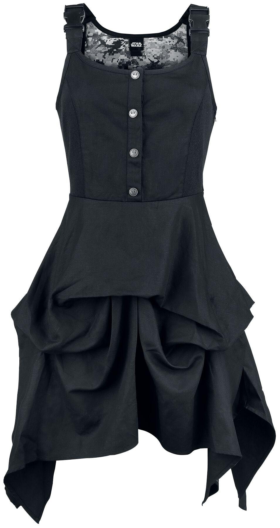 Star Wars Rogue One - Rebel Alliance Flightsuit Dress Sukienka czarny