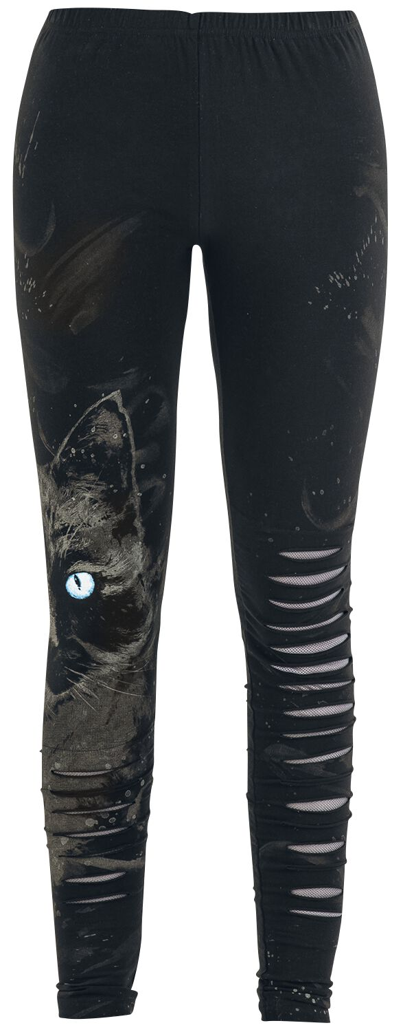 Image of   Full Volume by EMP Cat Cut-Out Leggings Leggings sort