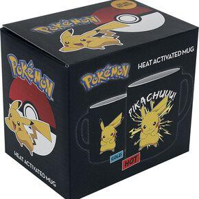 Pokémon Pikachu - Mug Thermoréactif Mug noir