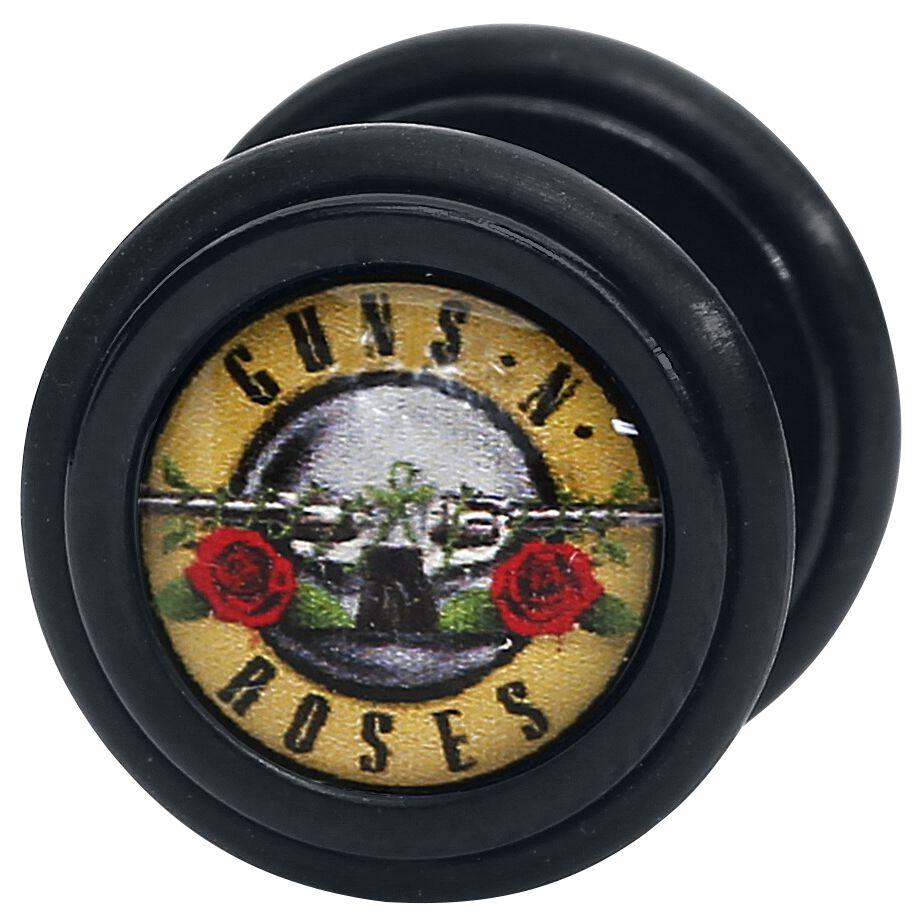 Image of   Guns N' Roses Logo Fake plug sæt Standard