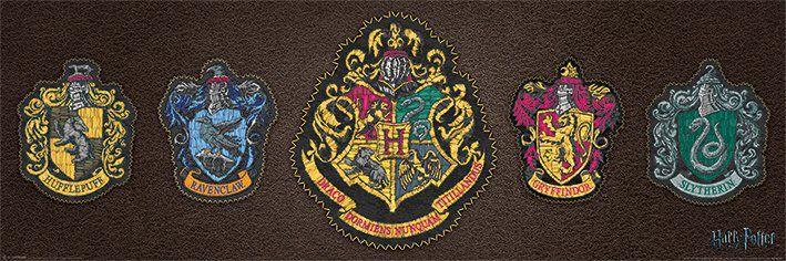 Image of   Harry Potter Crests Plakat Standard