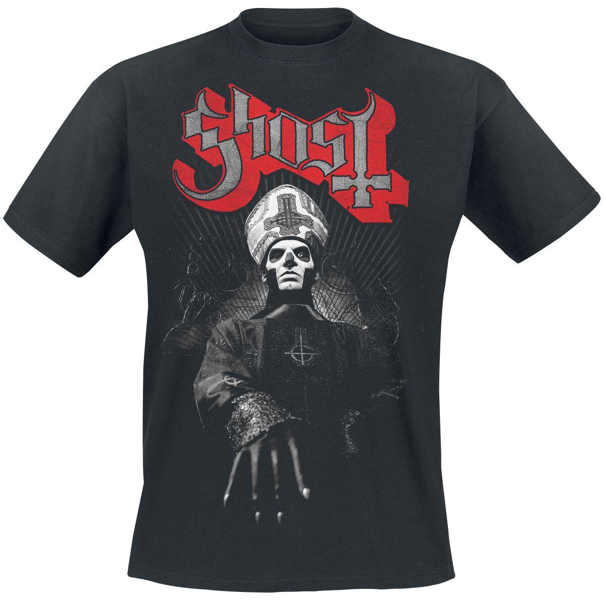 Zespoły - Koszulki - T-Shirt Ghost Ring Photo T-Shirt czarny - 341214