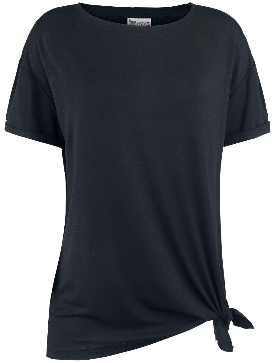 Marki - Koszulki - Koszulka damska Pussy Deluxe Lovely Basic Shirt Koszulka damska czarny - 341228