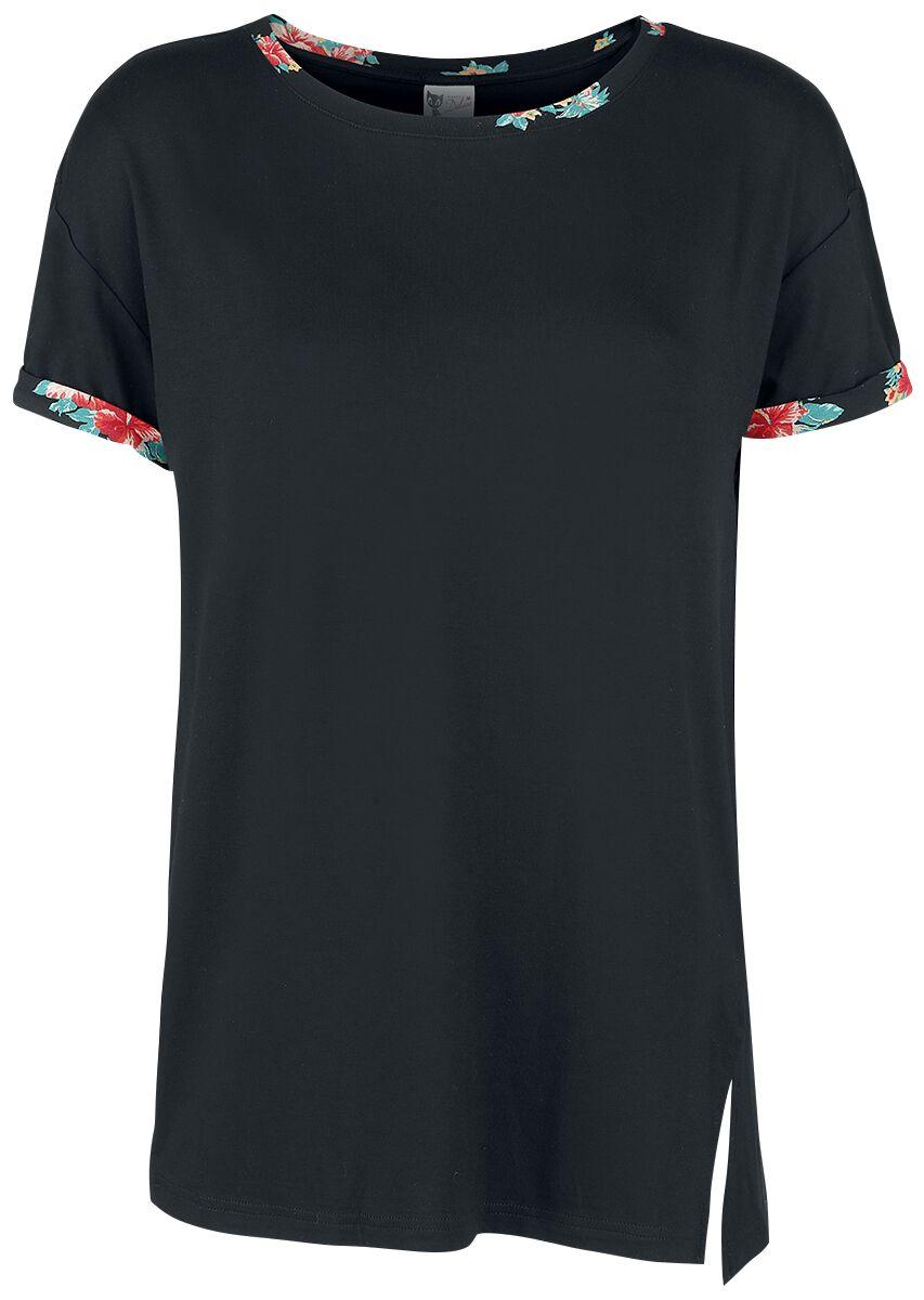 Marki - Koszulki - Koszulka damska Pussy Deluxe Hawaii Basic Shirt Koszulka damska czarny - 341275