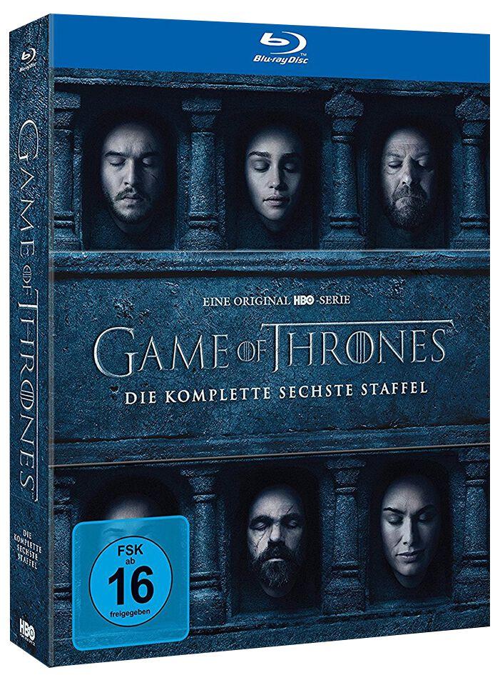 Game Of Thrones Die komplette 6. Staffel 4-Blu-ray Standard