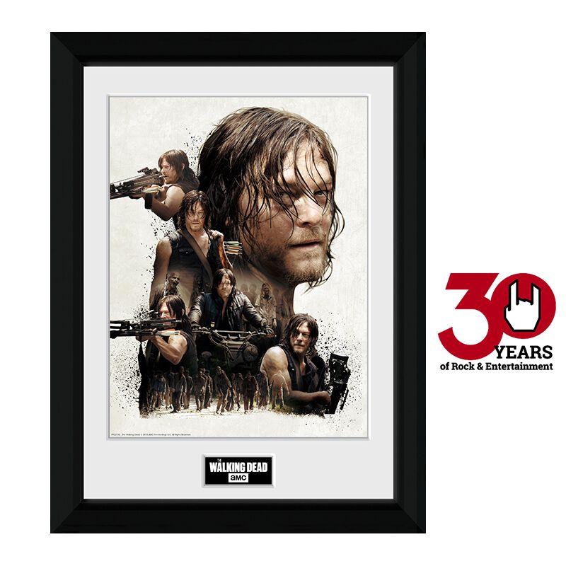 Image of   The Walking Dead Daryl Dixon Collage Indrammet billede standard