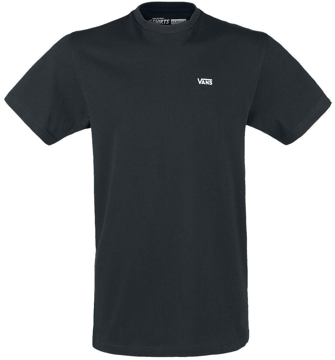 Image of   Vans Left Chest Logo Tee T-Shirt sort