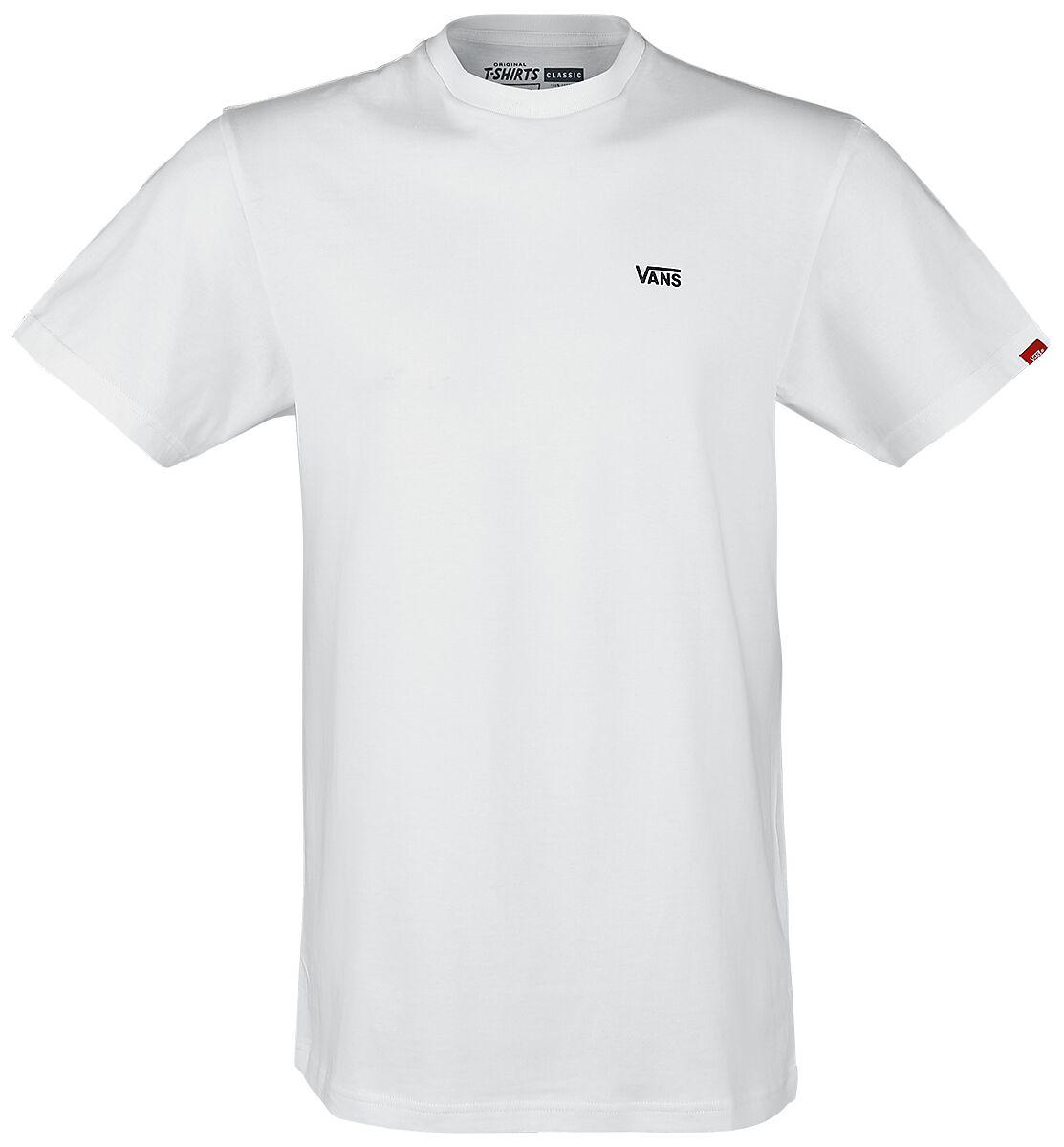 Image of   Vans Left Chest Logo Tee T-Shirt hvid