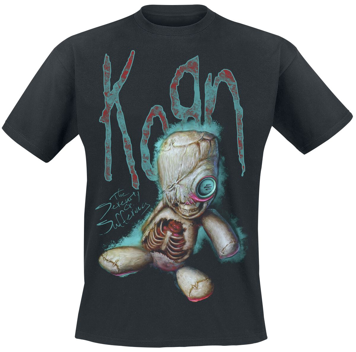 Image of   Korn New Doll T-Shirt sort