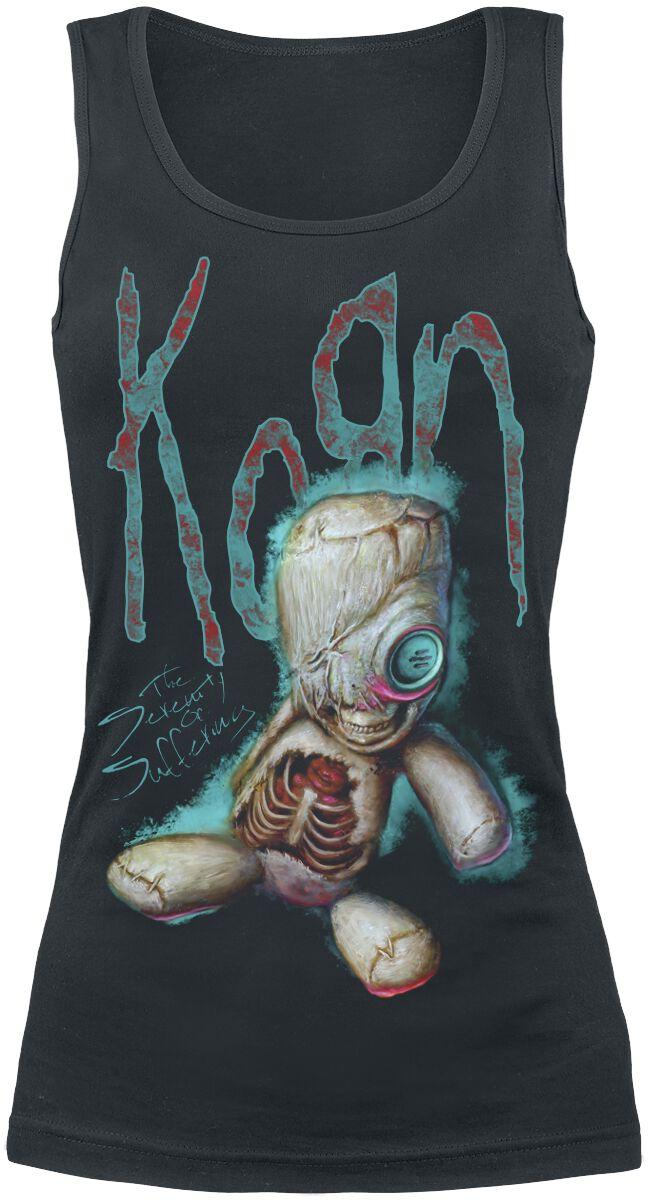 Korn New Doll Girl-Top schwarz