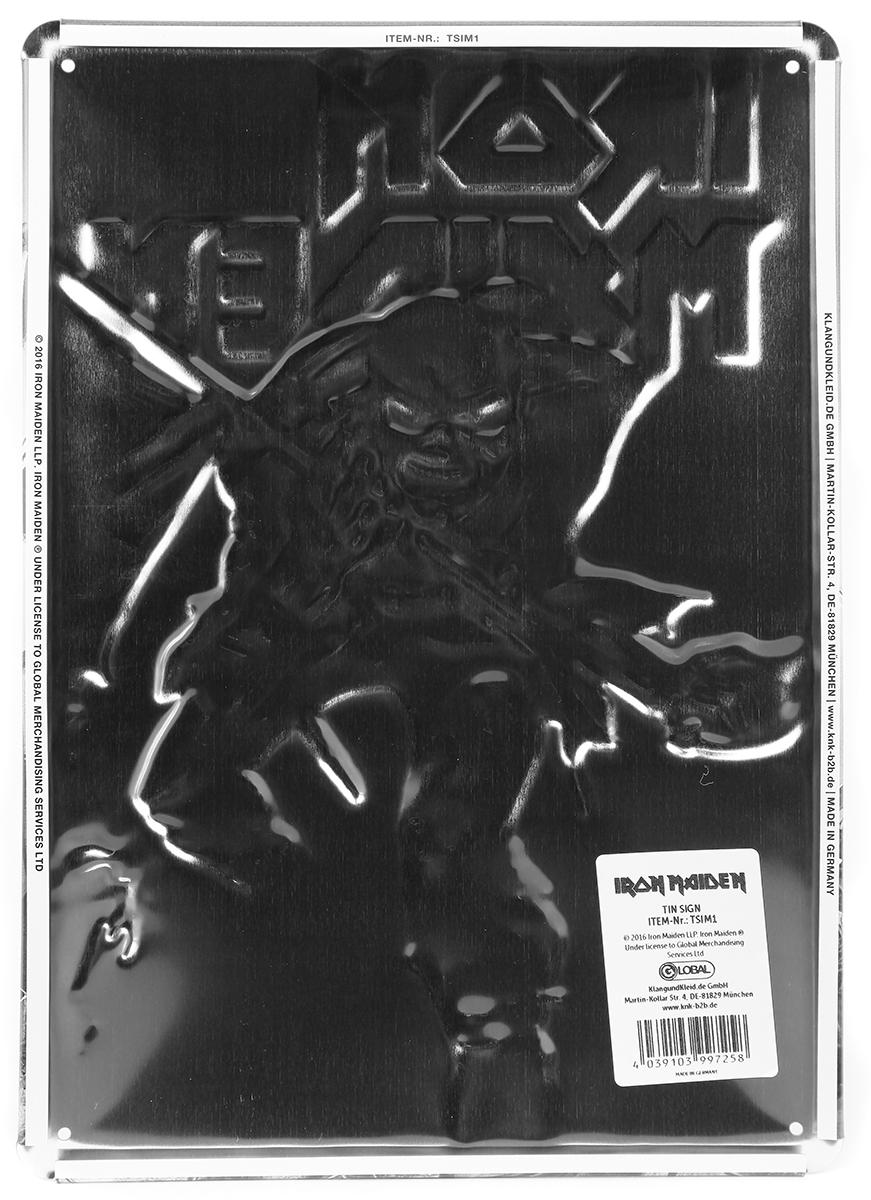 Image of Iron Maiden The trooper Blechschild Standard