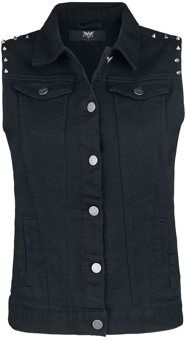 Image of   Black Premium by EMP Along For The Ride Girlie vest sort