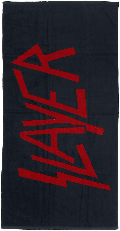 Image of   Slayer Logo Badehåndklæde Standard