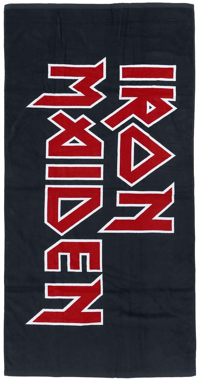 Image of   Iron Maiden Logo Badehåndklæde Standard