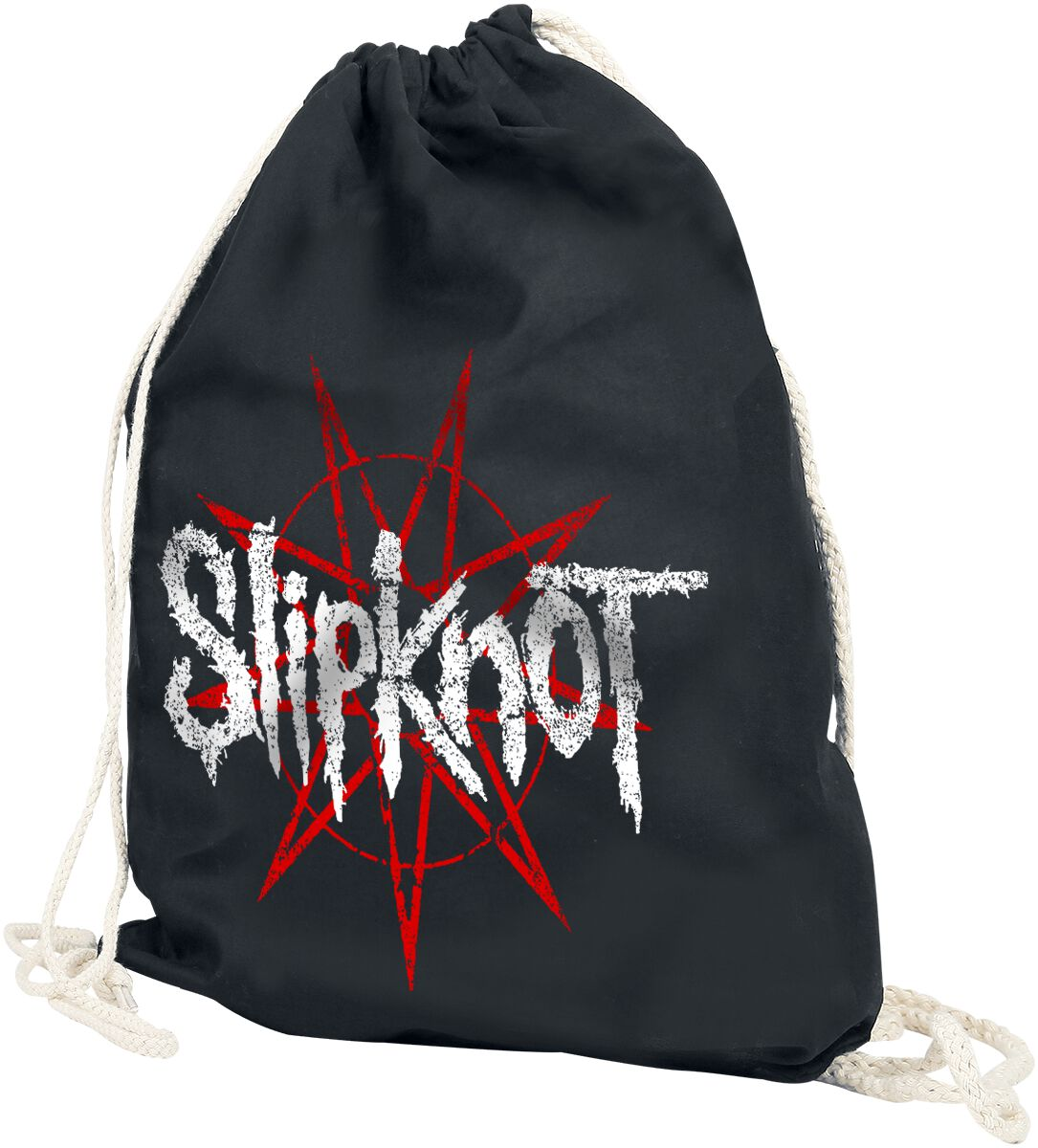 Image of   Slipknot Star Logo Gymnastiktaske sort