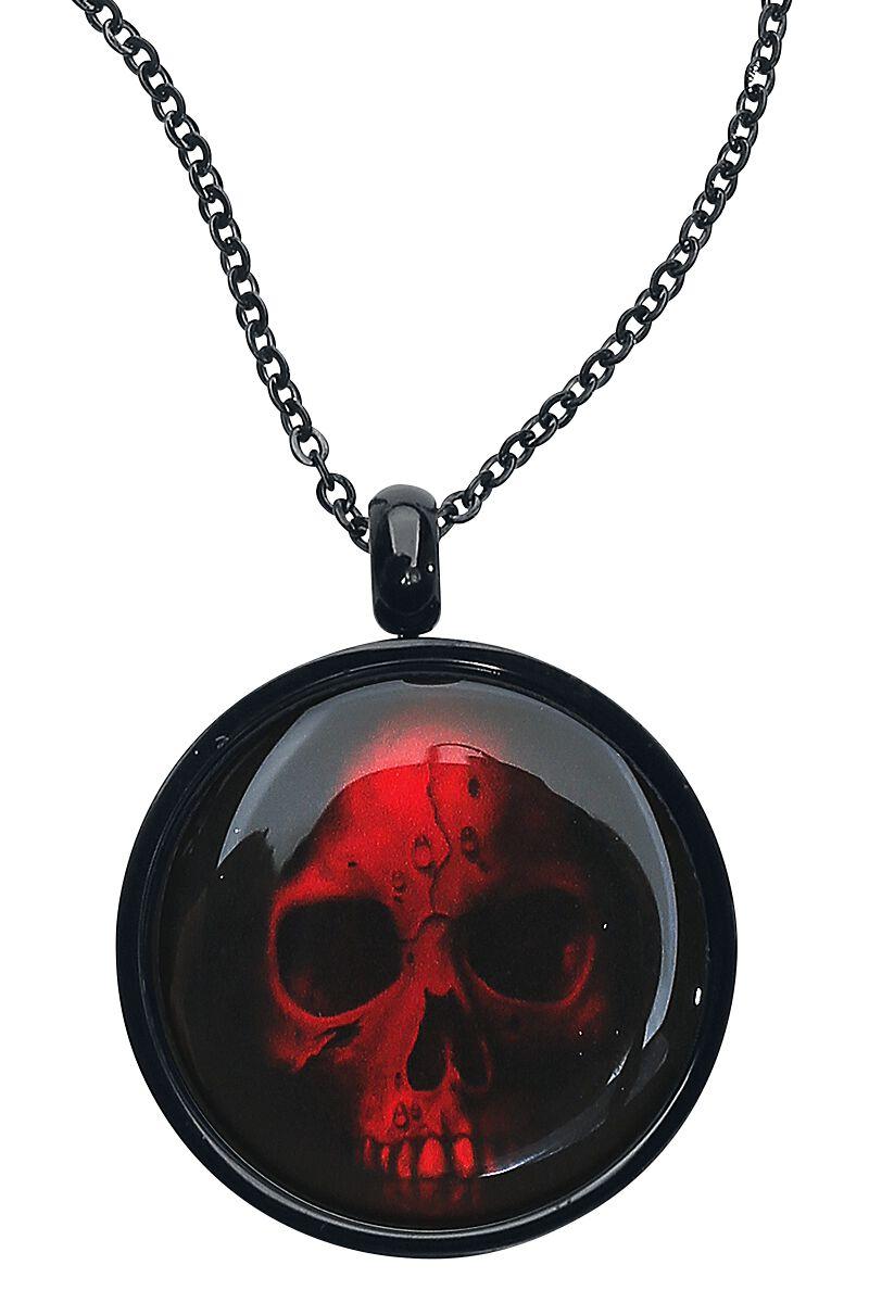 Image of   Wildcat Red Skull Halskæde Standard