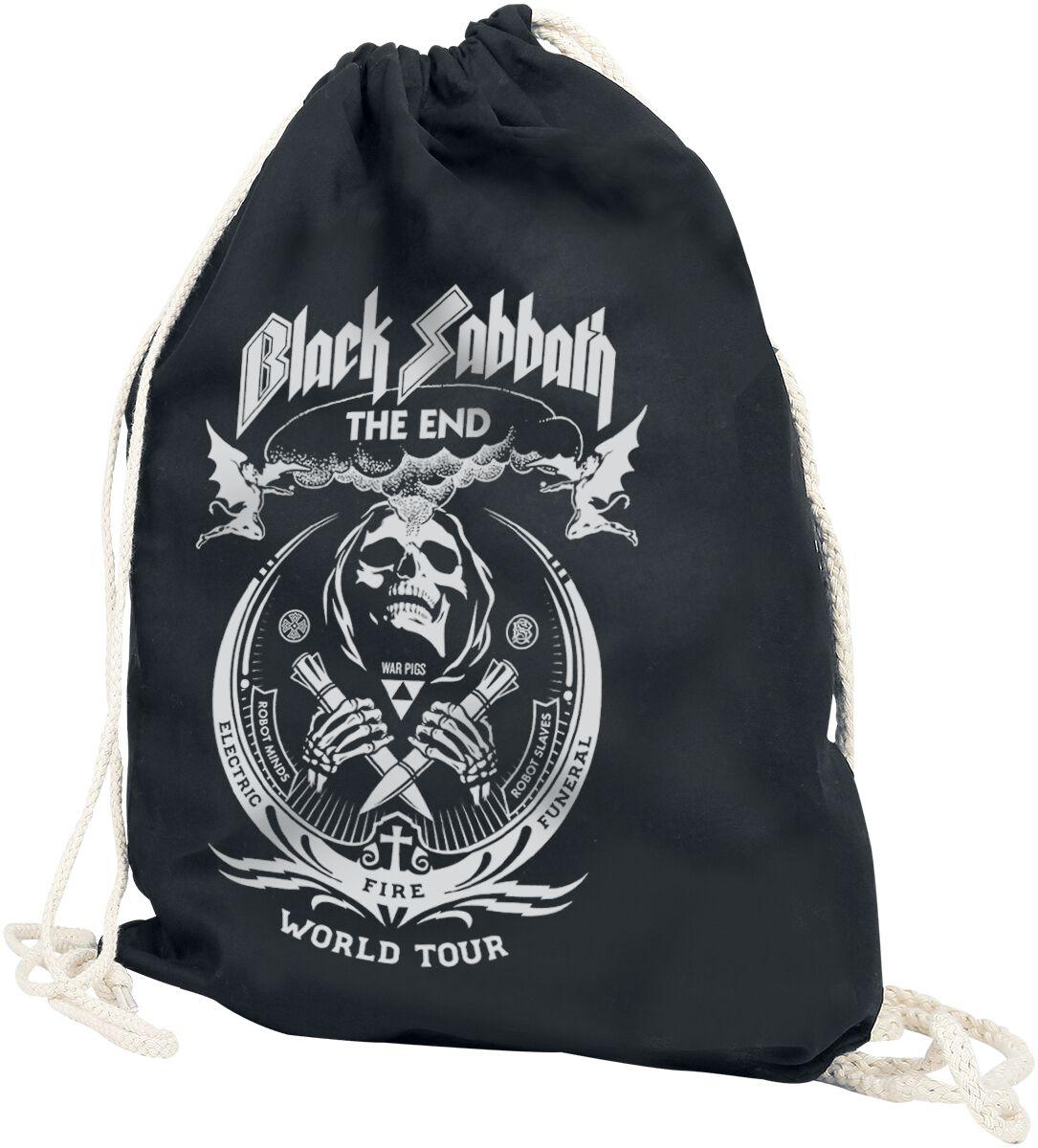 Image of   Black Sabbath The End Grim Reaper Gymnastiktaske sort