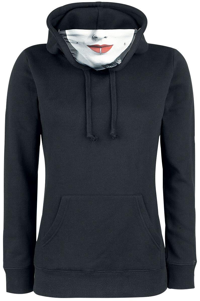 Marka własna - Bluzy z kapturem - Bluza z kapturem damska Full Volume by EMP Mask Hoodie Bluza z kapturem damska czarny - 342702